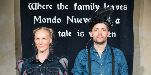 Talking & Props: EXODUS / Cecilie Ullerup Schmidt (DK) & Andreas Liebmann (CH)